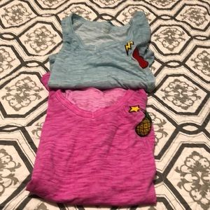 Two lane Bryant tees..both like new size 14/16